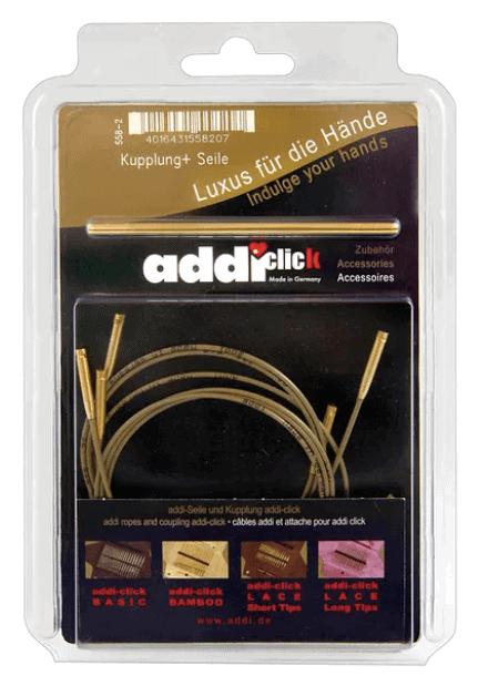 658-2 Addi Click Basic 3 Cords, 1 Connector