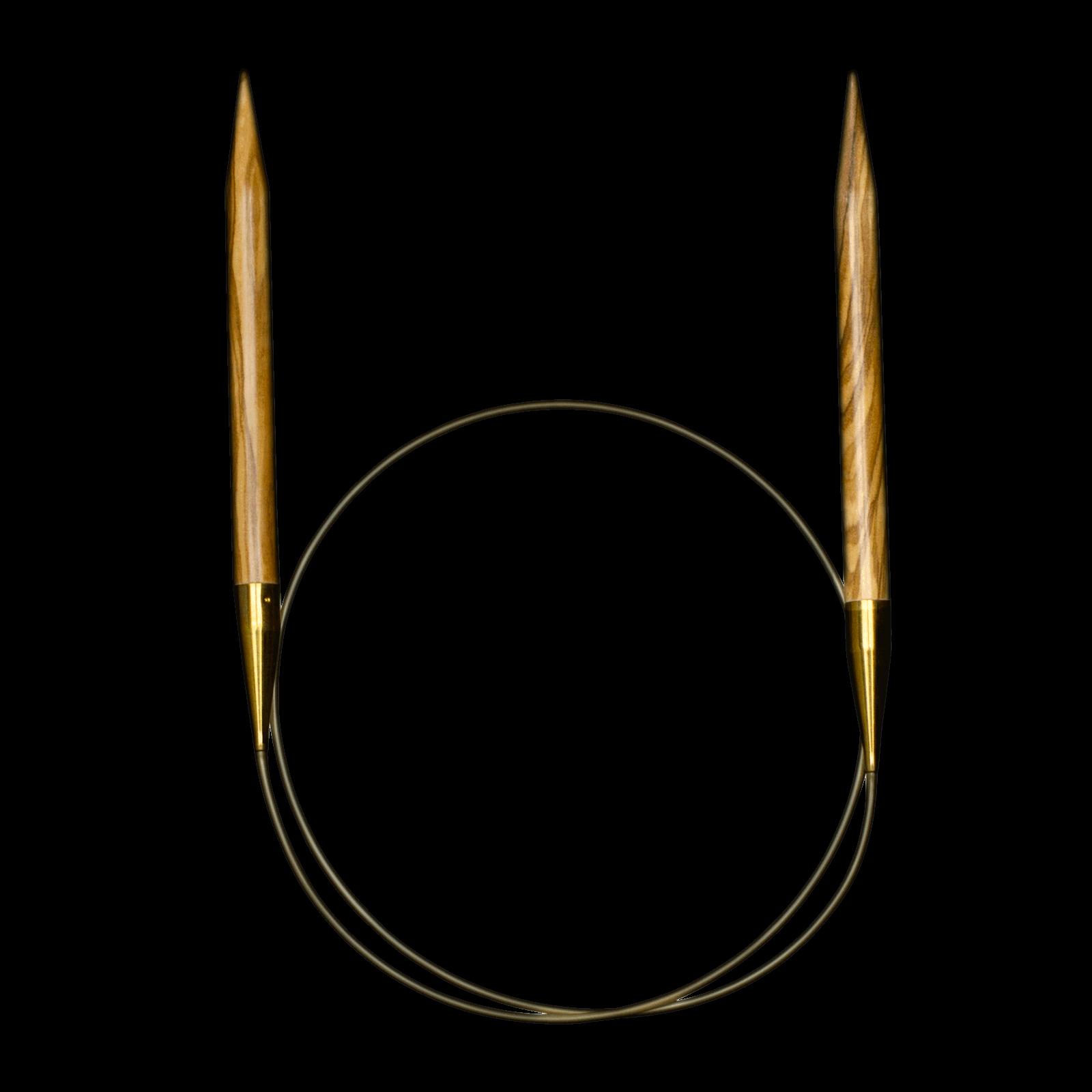 575 7 olivewood circular needle