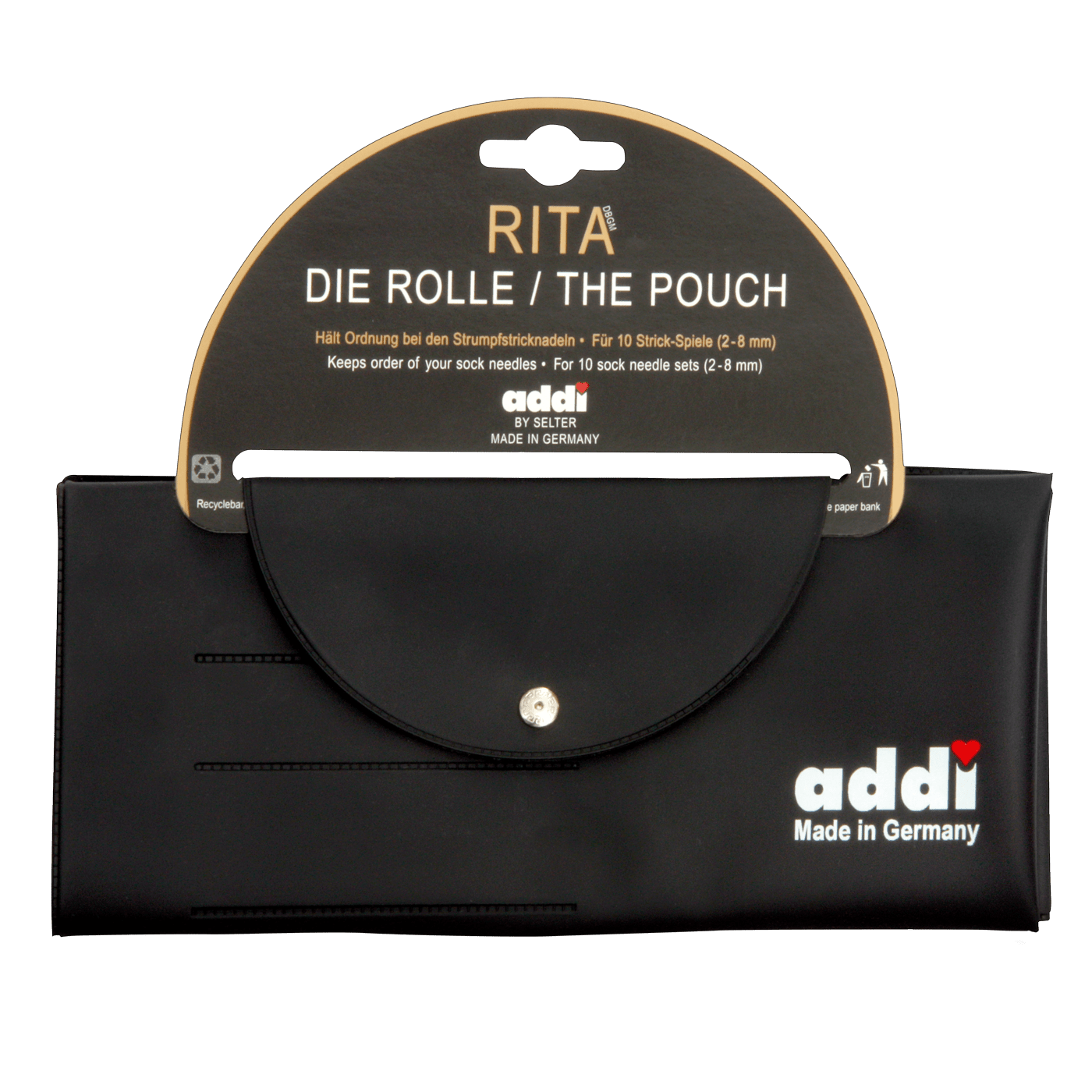 610 0 Rita Etui fuer 10Sets Strumpfstricknadeln 4c