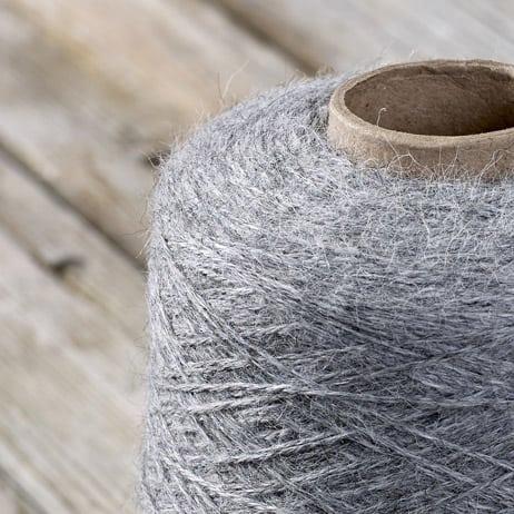 C103 Steel coloured cone yarn