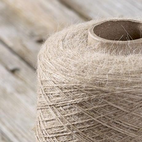 C108 Beige yarn on the cone