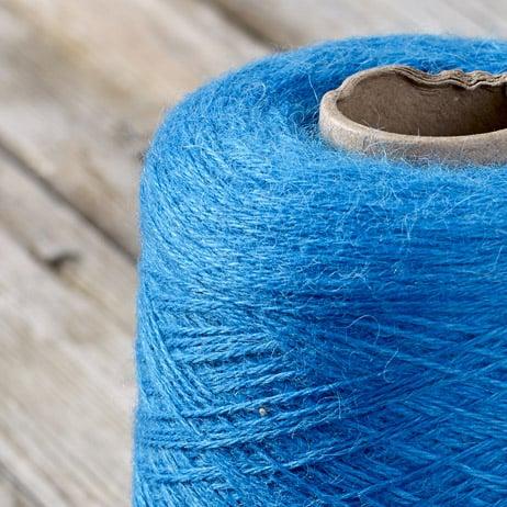 C218 Bermuda blue cone yarn