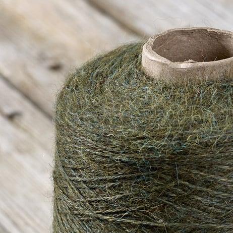 C313 Fern green cone yarn