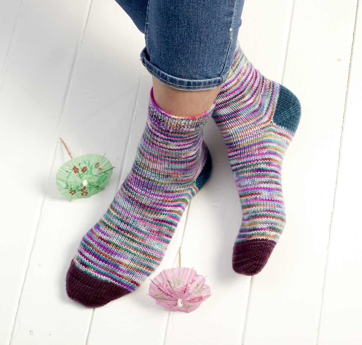 Cosmopolitan Socks